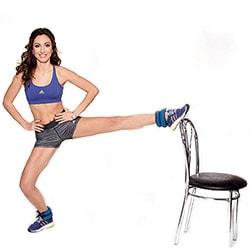 Упражнения для похудения ног и бедер в домашних условиях: видео
