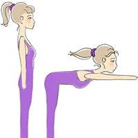 Разминка для позвоночника и шеи, упражнение 4