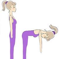 Разминка для позвоночника и шеи, упражнение 5