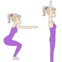 Разминка ног, упражнение 4