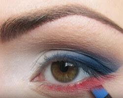 Как правильно красить глаза тенями шаг 4
