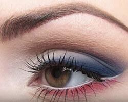 Как правильно красить глаза тенями шаг 5