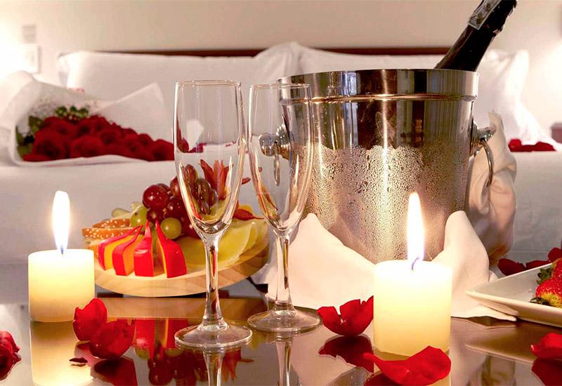 Атмосфера романтического вечера