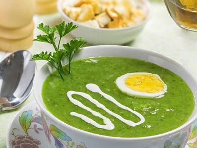 Яичный крем-суп