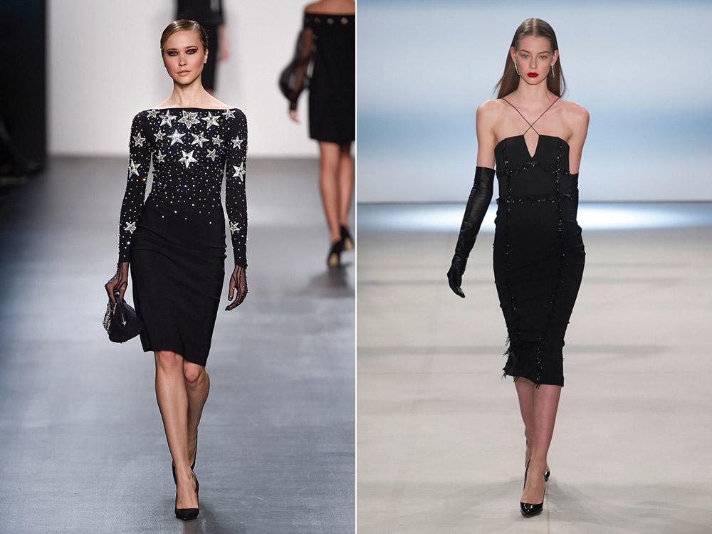 7402049b7f2 Черное платье на Новый год 2020