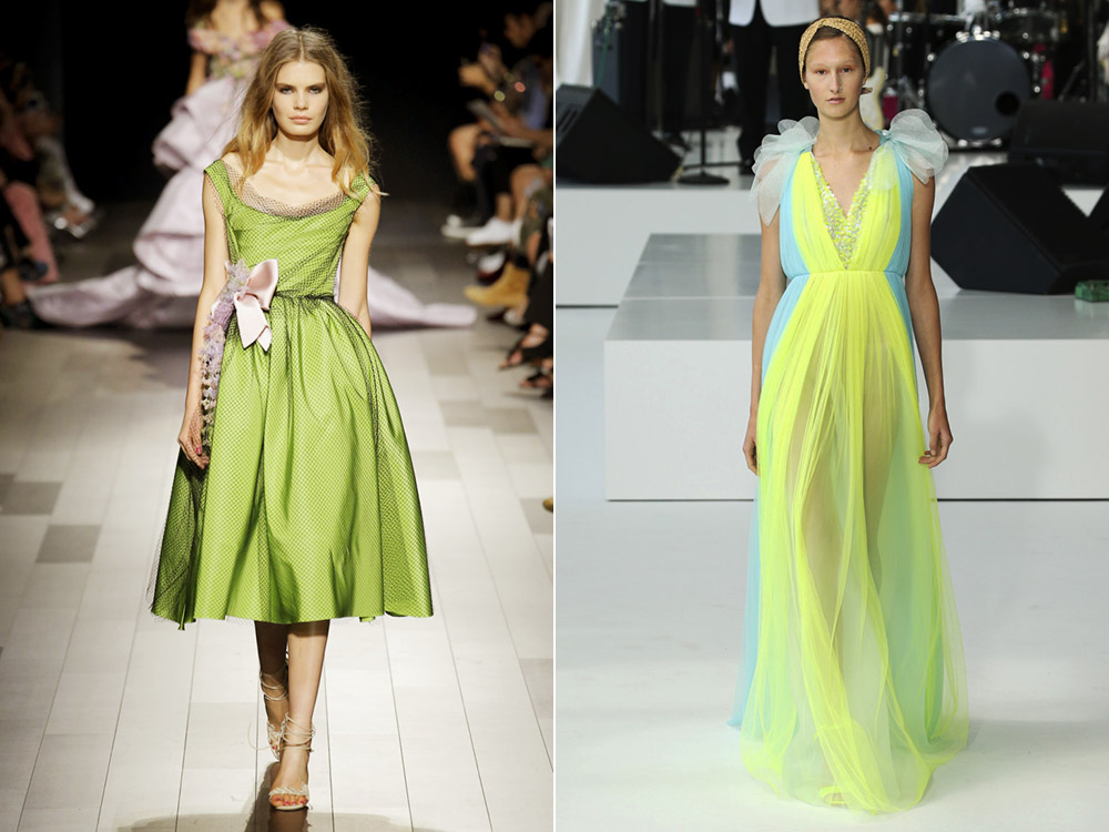 Lime Punch Marchesa, Delpozo