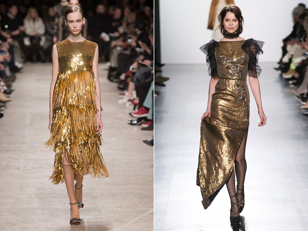 56ff113a950 Золотое платье на Новый год 2020