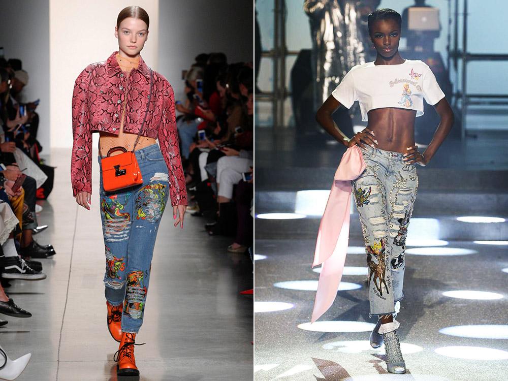 Модные джинсы весна-лето 2018: фото, основные тенденции
