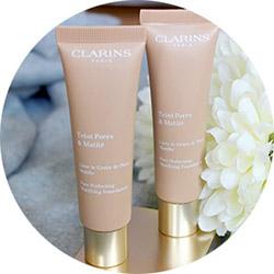 Тональный крем Clarins Teint Pores & Matte