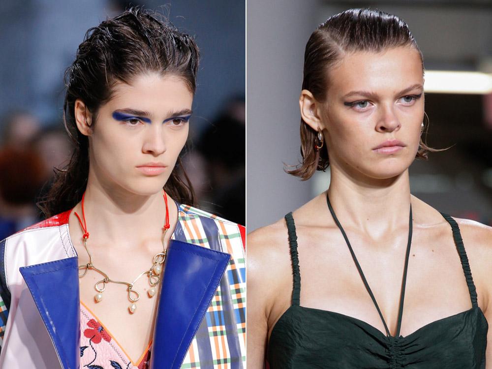 Как сделать из волос мокрый эффект фото Как сделать эффект мокрых волос: советы для разных