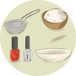 Как сделать лак матовым с помощью соды