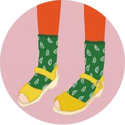 Растяжка обуви шерстяным носком
