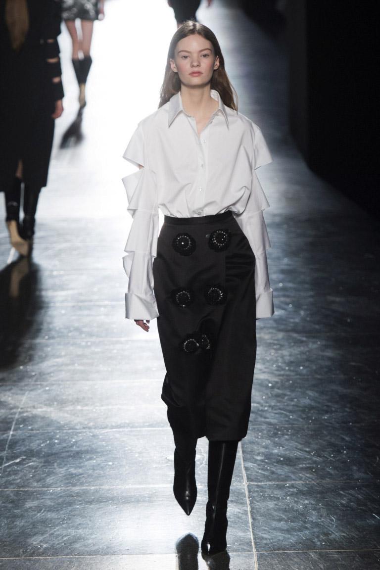 Модные юбки осень-зима 2018-2019  тренды, фото 37c0e1b3798
