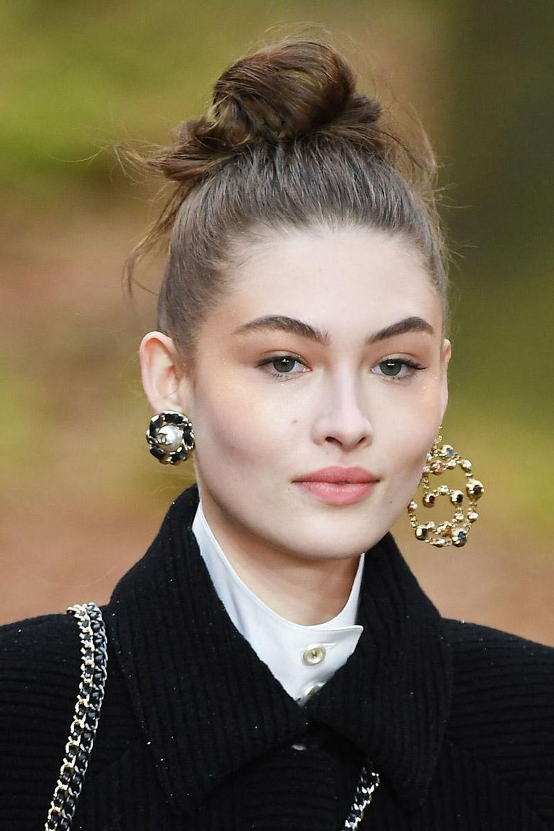 Асимметричные серьги Chanel