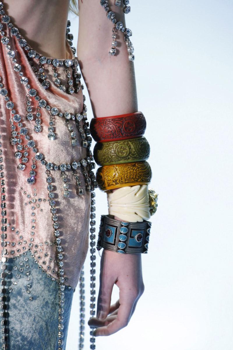 Массивные браслеты Gucci