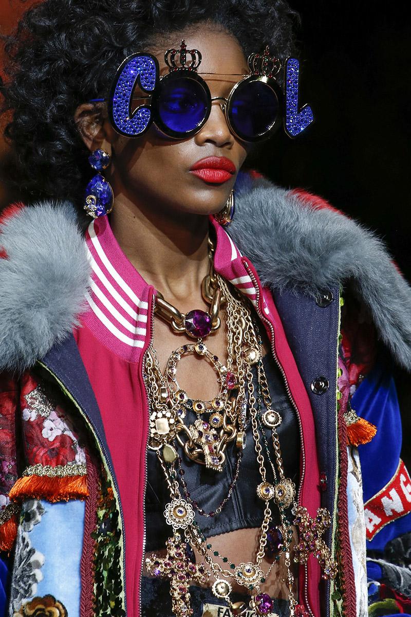 Микс разных украшении Dolce & Gabbana