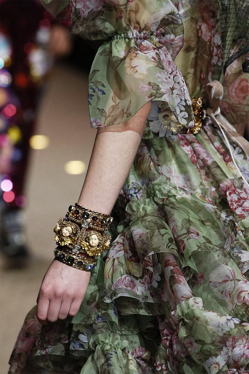 Украшения в стиле барокко и рококо Dolce&Gabbana