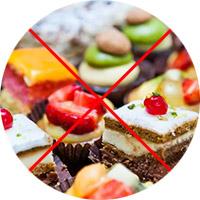 Исключение вредных сладостей