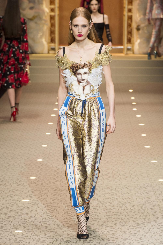 Лампасы с логотипами Dolce&Gabbana