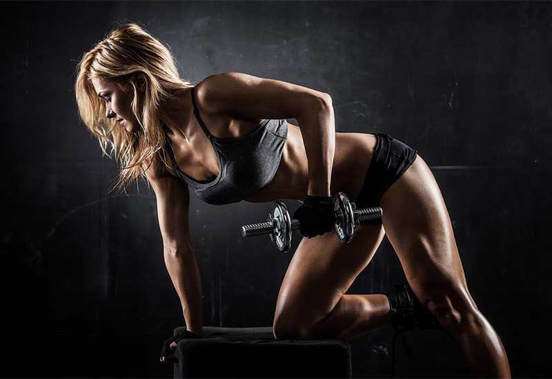 Особенности тренировок во время сушки для девушек