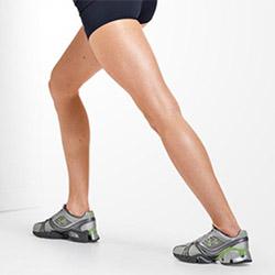 Упражнение на растяжку икр ног