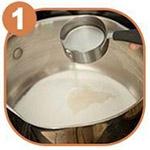 Рецепт пасты с лимоном шаг 1