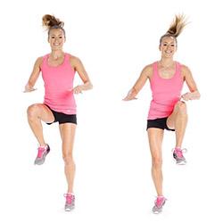 Бег с высоким подъемом коленей