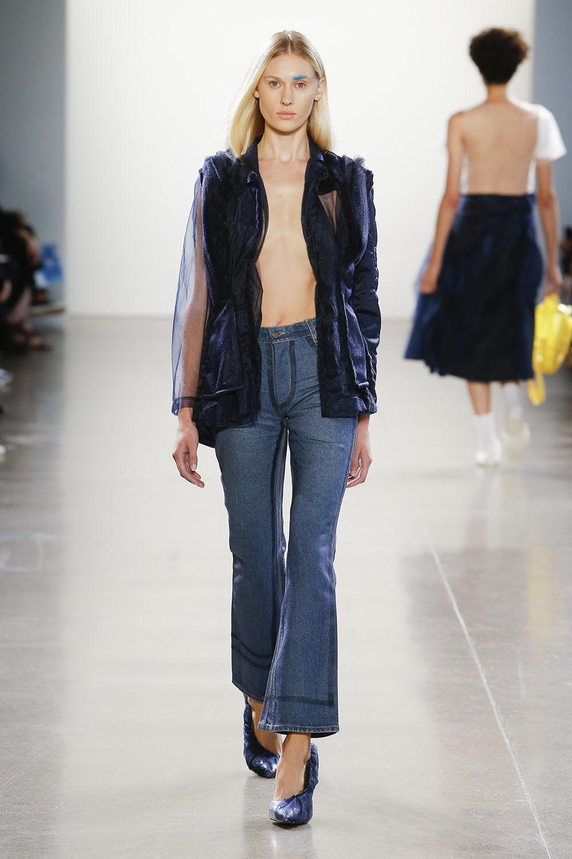 какие джинсы будут в моде 2019