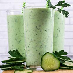 Зеленый детокс-коктейль