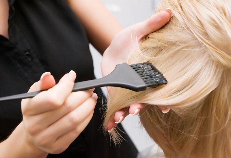 Этапы осветления волос