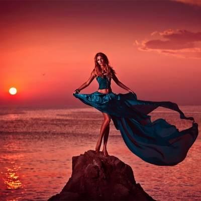 С чем носить юбку-солнце относительно ее длины, 16 фото