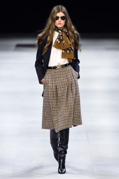 5cdee58afe1 Модные юбки осень-зима 2019-2020  строгая женственность