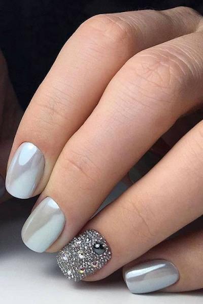 Блестки для покрытия ногтей