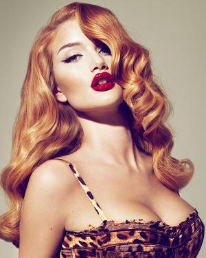 Макияж для рыжих волос