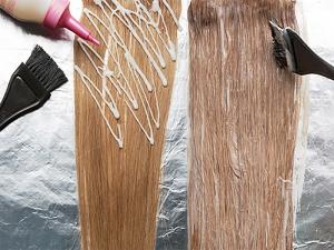 Смешивание красок для волос