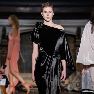 Бархат – модный тренд сезона осень-зима 2017-2018