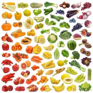 Таблица калорийности овощей и фруктов
