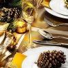 Как украсить стол на Новый год 2019