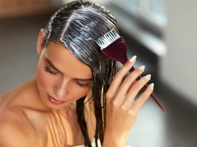 Окрашивание волос двумя красками
