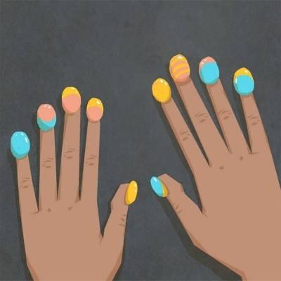 Бабл-маникюр – безумный nail-art и новый тренд