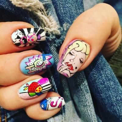 Дизайн ногтей гель-лаком 2019: фото, новинки и тренды