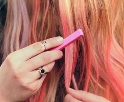 Как пользоваться мелками для волос: особенности окрашивания