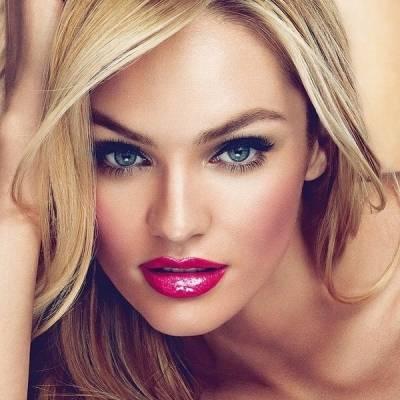 Макияж для блондинок с голубыми глазами: ярко и естественно