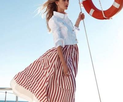 Морской стиль в одежде: что модно в этом сезоне