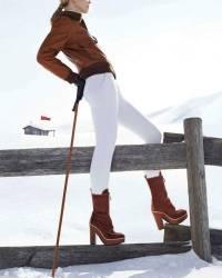 С чем носить коричневые сапоги: от милитари до делового стиля