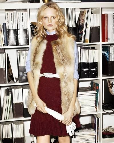С чем носить меховую жилетку: правила «высокой» моды