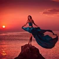С чем носить юбку-солнце относительно ее длины