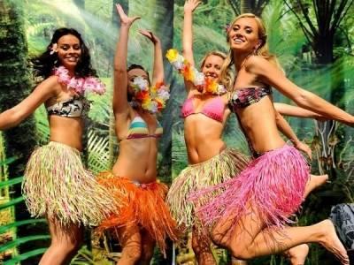Сценарий гавайской вечеринки: одежда, угощение, конкурсы